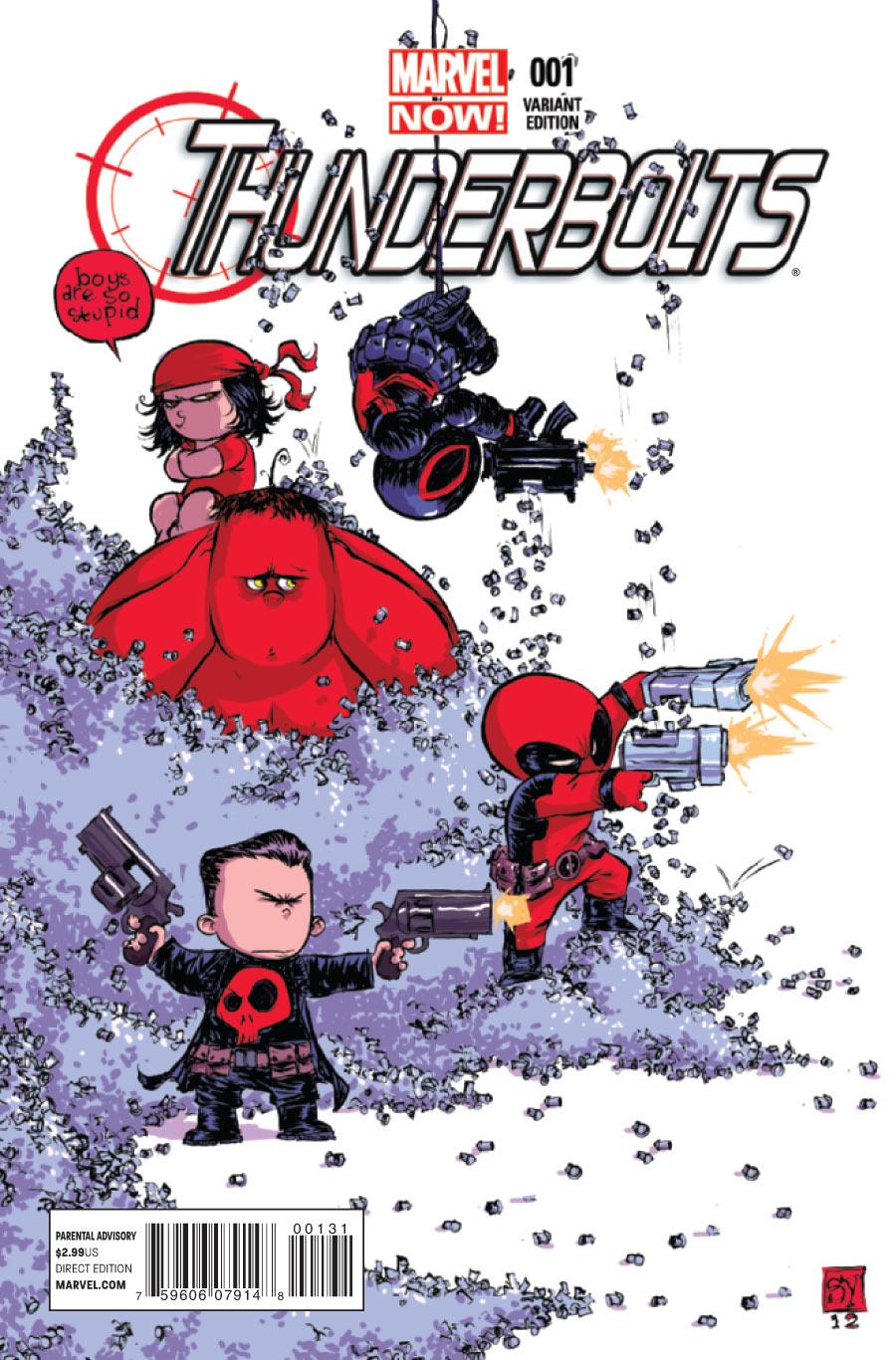 Thunderbolts Vol 2 1 Baby Variant