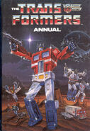 Transformers Annual Vol 1 1986