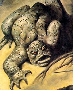 Tsathoggua (Earth-616) from Savage Sword of Conan Vol 1 40 Cover