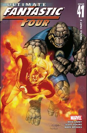Ultimate Fantastic Four Vol 1 41