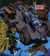 Unlimited Freeway Fighter from Punisher Vol 2 54