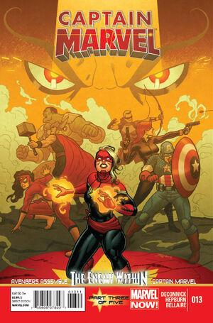 Captain Marvel Vol 7 13