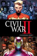 Civil War II Choosing Sides Vol 1 1 Textless
