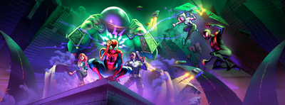 Earth-TRN461 from Spider-Man Unlimited (video game) 003