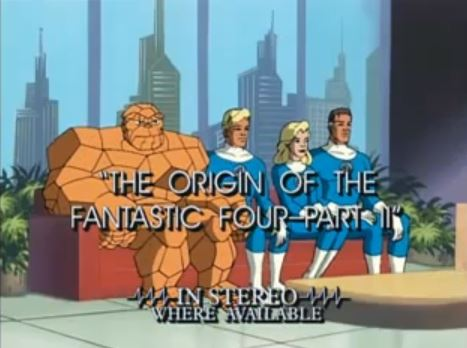 fantastic four 1994 animated series season 1 2 marvel database