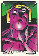 Helmut Zemo (Earth-616) from Mike Zeck (Trading Cards) 0001