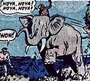 Mabu's Elephant (Earth-616) from Marvel Mystery Comics Vol 1 36 0001