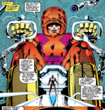 Master Mold (Earth-811) from Excalibur Vol 1 66 001