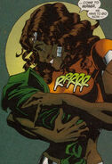 Melody Jacobs and Threnody's Child (Earth-616) from X-Man Vol 1 58 001