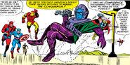 Nathaniel Richards (Kang) (Earth-6311) vs Avengers (Earth-616) from Avengers Vol 1 8 0003
