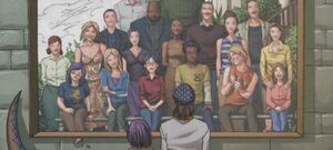 Runaways (Earth-616) and Pride (Earth-616) from Runaways Vol 2 14 001