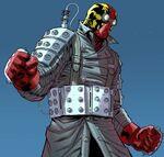 Shocker (Shultz) (Earth-90214) from Spider-Geddon Spider-Man Noir 001