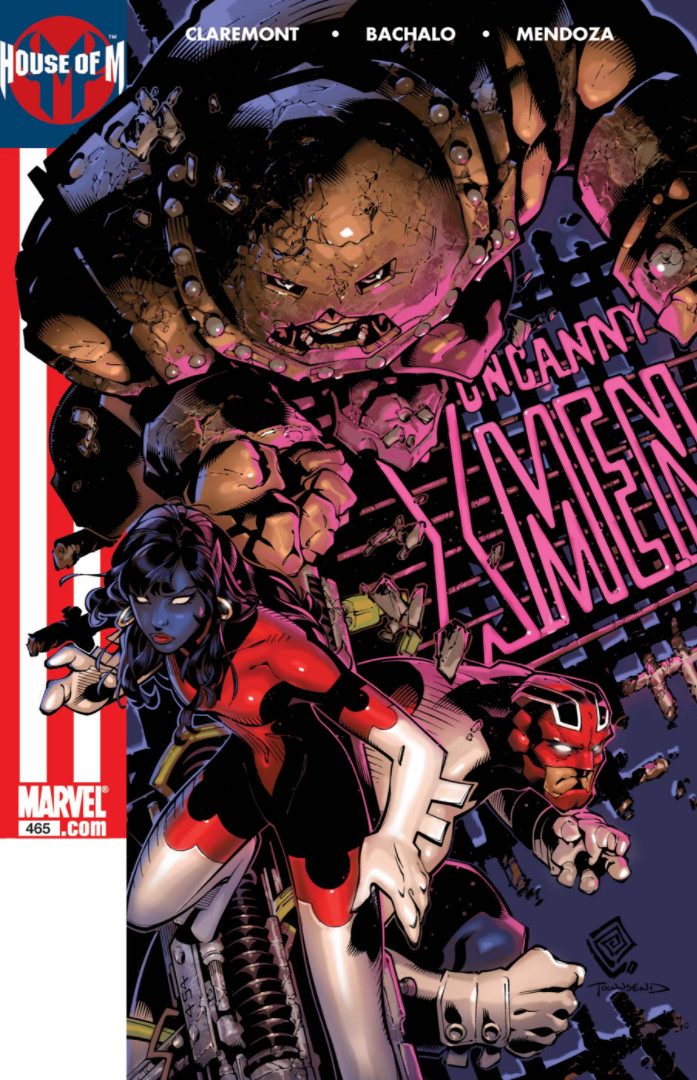 Uncanny X-Men Vol 1 465