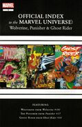 Wolverine, Punisher & Ghost Rider Official Index to the Marvel Universe Vol 1 4