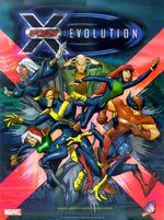 X-men Evolution cover