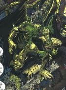 Aan Taanu (Earth-616) possessing Fin Fang Foom (Earth-616) from The Legion of Night Vol 1 2 0001