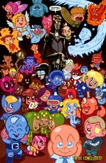 Adorable X-Babies (Mojoverse) and Mr. Veech (Mojoverse) from X-Babies Vol 1 3 001