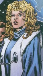 Amara Aquilla (Earth-6706) from New Exiles Vol 1 4 0001