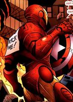 Anthony Stark (Earth-7231) from Ultimate Civil War Spider-Ham Vol 1 1 0001