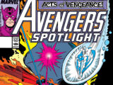 Avengers Spotlight Vol 1 27