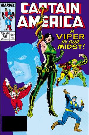 Captain America Vol 1 342
