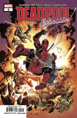 Deadpool Assassin Vol 1 2