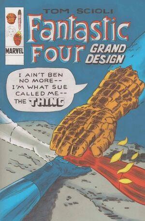Fantastic Four Grand Design Vol 1 1 Textless