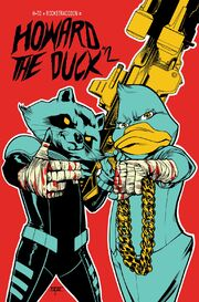 Howard the Duck Vol 5 2 Run the Jewels Variant Textless