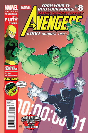 Marvel Universe Avengers - Earth's Mightiest Heroes Vol 1 8