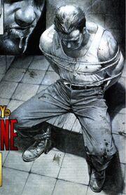 Nick Fury prisoner of Baron Blood from Captain America Vol 3 20