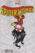 Spider-Woman Vol 5 1 Baby Variant