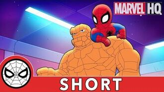 Spidey Clobbers Crime! Marvel Super Hero Adventures - It's Clobberin' Time