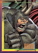Aleksei Sytsevich (Earth-616) from Marvel Universe Trading Cards 1993 Set 0001