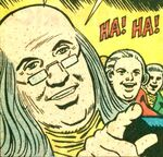 Benjamin Franklin (Earth-57780) from Spidey Super Stories Vol 1 17 0001