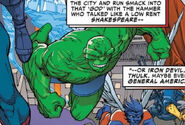 Bruce Banner (Earth-13017) and Benjamin Grimm (Earth-13017) from Amazing Spider-Man Vol 1 700 0001