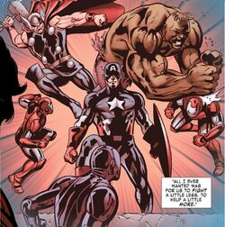 Defenders (Earth-14029) from Iron Man Fatal Frontier Infinite Comic Vol 1 9 001