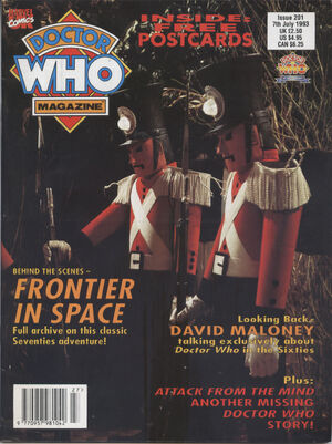 Doctor Who Magazine Vol 1 201