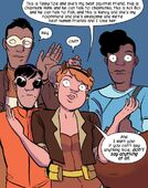 Doreen Green (Earth-616), Tomas Lara-Perez (Earth-616), Ken Shiga (Earth-616), Nancy Whitehead (Earth-616) and Tippy-Toe (Earth-616) from Unbeatable Squirrel Girl Vol 1 7 001