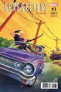Generations Hawkeye & Hawkeye Vol 1 1 Hetrick Variant