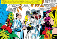 Henry Pym (Earth-616) and the Wasp are wed