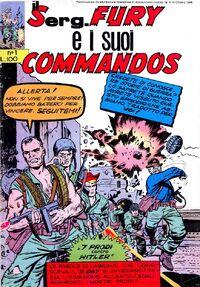 Il Serg.Fury e i suoi Commandos n. 1