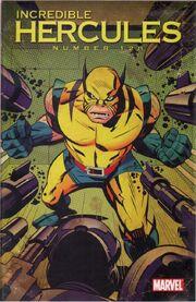 Incredible Hercules Vol 1 128 Wolverine Art Appreciation Variant