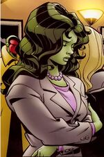 Jennifer Walters (Earth-808122) from Hero Initiative Mike Wieringo Vol 1 1 0001