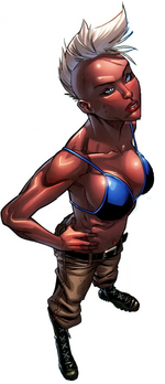 Ororo Munroe (Earth-1610) from Ultimate X-Men Vol 1 20 0001
