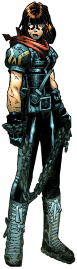 Paige Guthrie (Earth-295) from X-Men Age of Apocalypse Vol 1 4 0001