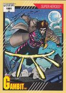 Remy LeBeau (Earth-616) from Marvel Universe Cards Series II 0001