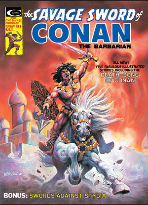 Savage Sword of Conan Vol 1 8