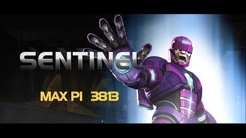 Sentinel Special Moves Marvel Contest of Champions