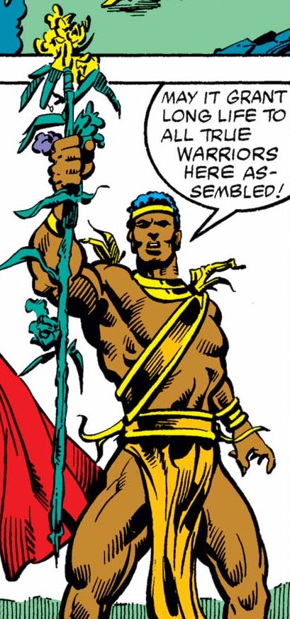 Shango (Vodū) (Earth-616) from Thor Annual Vol 1 10 0001