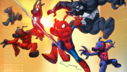 Spider-Ham Family (Earth-TRN461) from Spider-Man Unlimited (video game) 001